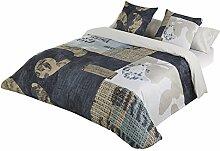 JVR Expresso Bettbezug Bett 180 cm blau