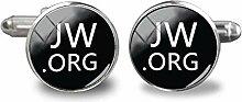 JW.ORG Manschettenknöpfe Steampunk Jehovahs