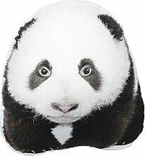 JWH 3D Panda Kissen Spielzeug Animal dekorativer