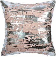 JWH Gold Folie Druck Kissen Leinen Home Sofa