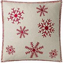 JWH JW Weihnachtsbäume Accent Kissen Wolle