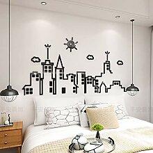 JWQT City silhouette 3D stereoskopischen