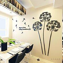 JWQT Löwenzahn kreative stereoskopischen 3D-Wall