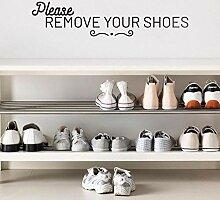 JXAA Schönheit Bitte entfernen Sie Ihre Schuhe