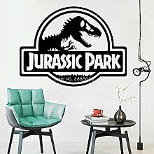 JXFM Jurassic Park Logo Wandaufkleber für