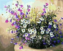 JXGG Blumenbild Digitalmalerei Acrylmalerei auf