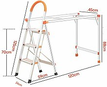 JXJJD Stuhl klappbar DREI oder Vier