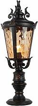 JXLZTD Pillar-Lampe, Straßenlaterne Außenleuchte