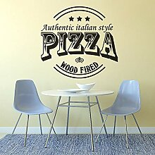 JXMN Pizza Shop Logo Fenster Poster Authentische