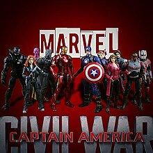 JXMODEL Anime Captain America: Bürgerkrieg