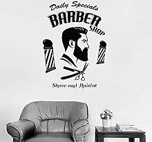 JXND Barber Shop Logo Logo Aufkleber für Friseur