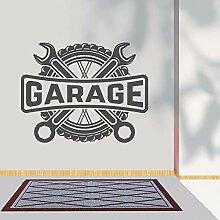 JXND Garage Auto Wandaufkleber Auto Service Garage