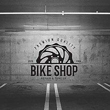 JXND Hochwertige Fahrrad Shop Wandkunst Aufkleber
