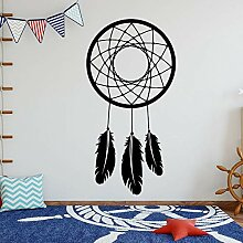 JXND Tribal Dream Catcher mit Wandtattoo Dream
