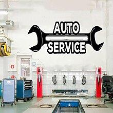 JXNY Auto Autoreparatur Logo Auto Service Vinyl