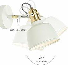 JXSHQS Wandlampe Nachttischlampe Schlafzimmer