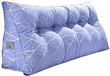 JXXDDQ Nachttisch-Kissen Dreieck-Kissen Doppelbett