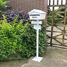 JXXDDQ Postal Mailbox Dekorative Cast Aluminium