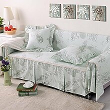 JY$ZB All-Saison Baumwolle Leinen Sofa Covers Baumwolle rutschfeste Sofa Slipcover für Zimmer Sofa Handtuch Home Decor , 200*260Lovesea