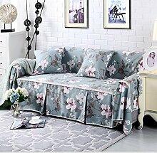 JY$ZB All-Saison Cotton Sofa Covers Baumwolle rutschfeste Sofa Slipcover für Zimmer Sofa Handtuch Home Decor , 200*260Lovesea