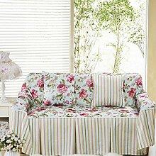 JY$ZB All-Season Chaorou kurzen Plüsch pastoralen Stoff Sofa Möbel Beschützer Anti-Rutsch-Sofa Abdeckung , 1 , 185*300