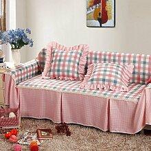 JY$ZB All-Season Home Textiles Volldeckung Dicker Stoff Kombination Sofa Möbel Beschützer Anti-Rutsch-Sofa Abdeckung , 3 , 215*350Sofa Cover