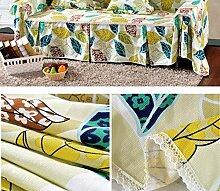 JY$ZB Baumwolle Leinwand dick rutschfest Volldeckung Sofa Möbel Protector Sofa Handtuch , 4 , 210*200single sea