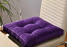 JY$ZB Derrière Kissen Restaurants Restaurants Stuhl Kissen Mat Stuhl-Kissen , purple