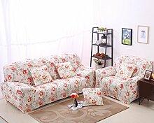 JY$ZB Heimtextilien Anti-Rutsch hochelastischen All-inclusive-Sofa-Möbel-Schutz-Sofa Handtuch , 235*300Sofa Cover