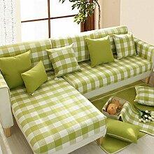 JY$ZB Heimtextilien Einfache Anti-Rutsch-Möbel Beschützer Sofa Protector Sofa Abdeckung , 2 , 90*90