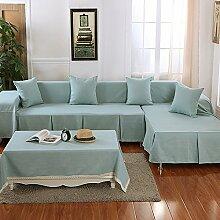 JY$ZB Heimtextilien Tuch Antirutsch - Leinen Kombination von vier - Saison bedeckt Sofa Handtuch , 1 , 210*300