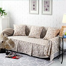 JY$ZB Home Textiles Anti-Rutsch-Hochelastische All-Inclusive Sofa Möbel Protector Sofa Handtuch , 215*300Sofa Cover