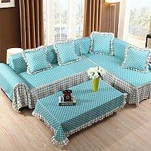 JY$ZB Home Textiles Einfache moderne vier-Saison rutschfeste Verdickung Sofa Möbel Protector Sofa Abdeckung , 215*260Lovesea