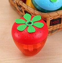 JY$ZB Mini kreative Erdbeere Modellierung Nachtlicht USB Luftbefeuchter Haus leise Luftreiniger 9 * 9 * 9.5cm , blue