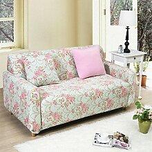 JY$ZB Möbel Protector Sofa Protector Sofa fest wickeln all-inclusive rutschfeste Sofa Deckel elastische Sofa Handtuch , 90*140single sea