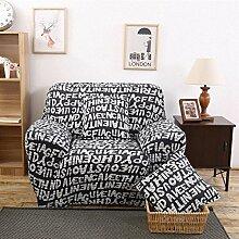 JY$ZB Möbel-Schutz-Sofa-Schutz-Sofa feste Verpackung All-inclusive-rutschfeste Sofa Abdeckung elastische Sofa Handtuch , 235*300Sofa Cover