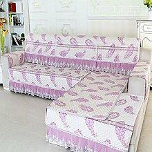 JY$ZB Sofa Möbel-Schutz Sofa-Abdeckung Rückenlehne Handtuch Armlehne Dick rutschfeste einfache Kombination von modernen , 1 , 90*180cm