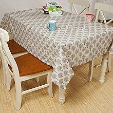 JY$ZB Tischdecke Tischdecke aus Baumwolle Leinen Couchtisch Tuchabdeckung Handtuch Picknicktisch Picknicktisch , B , 90*90