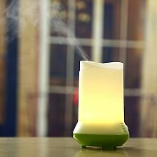 JY$ZB Usb-Luftreiniger Home-Office-Ultraschall-Luftbefeuchter Aromatherapie , green base