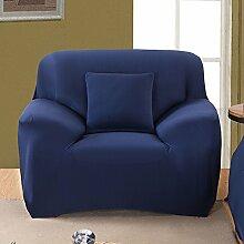 JY$ZB Vier Jahreszeiten feste Anti-Rutsch-Sofa-Sets all-inclusive einfache moderne Sofaabdeckung , navy , 235*300Sofa Cover