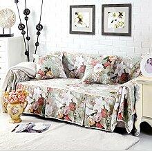 JY$ZB Volldeckung Sofa-Abdeckung Baumwollbeleg-beständiges Sofa-Beleg-Couch-Abdeckungs-Wohnzimmer-Sofa-Tuch-Hauptdekor , 200*300Sofa Cover