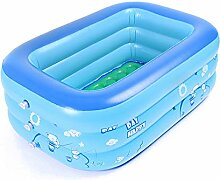 JYCAR Aufblasbarer Baby-Schwimmbad, kleiner Kiddie