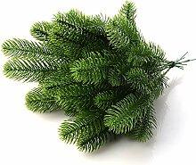 JYCRA Künstliche Tannenzweige, künstliche grüne