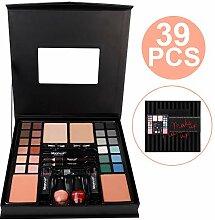 JYCRA Professionelles Make-up-Koffer, 39 Teile,