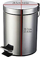 JYDQM Mülltonnen, Abfallbehälter 12 Liter Runder