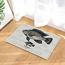 JYEJYRTEJ Fisch dekorative Größe Seefisch