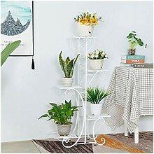 JYHJ Pflanzenständer Blumenwagen Rack Display