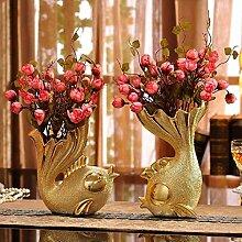 JYTBD TAOZI Haus Dekoration Keramik Mode Vase TV