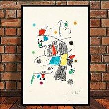 JYWDZSH Leinwanddruck Berühmte Moderne abstrakte
