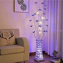 JYXJJKK Stehlampe Handgemachte Vase Dekoration